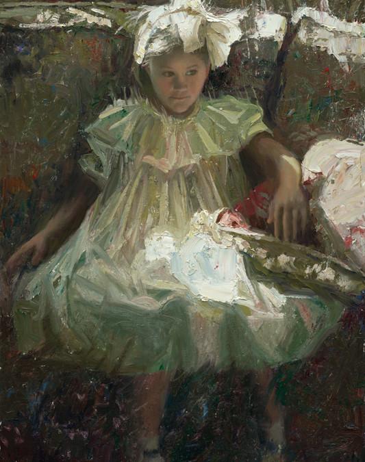 2006 – Portrait of Anne, oil on linen, 36×24