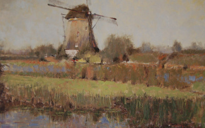 2002 – Kinderdijk (The European Collection 2002), 24×36