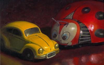 2008 – Identity Theft, oil on linen, 16×20