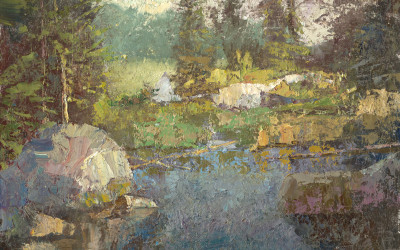 2013 – Barnum Brook, oil on linen, 16×20