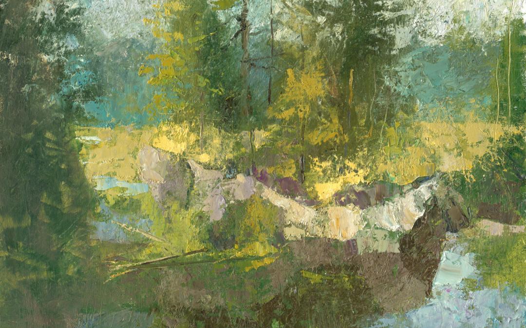 2013 – Barnum Brook Overlook, oil on linen, 16×20