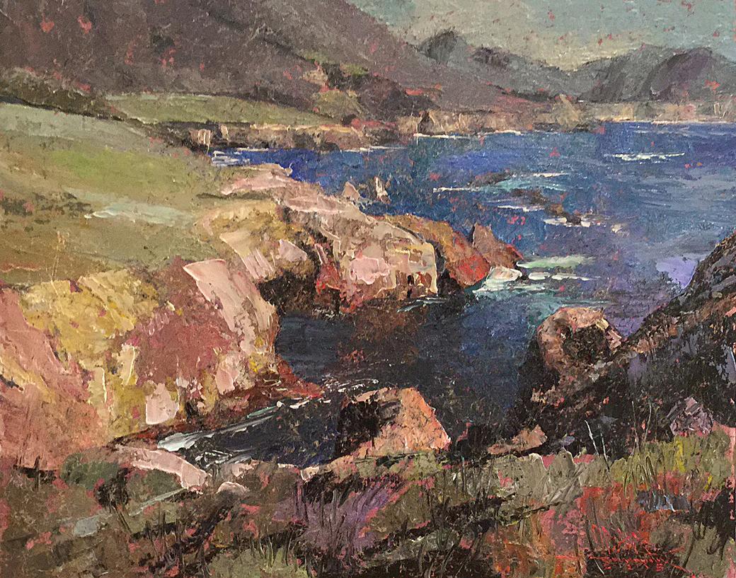 cw mundy, C.W. Mundy, Oil Painters of America, Virtuosos OPA