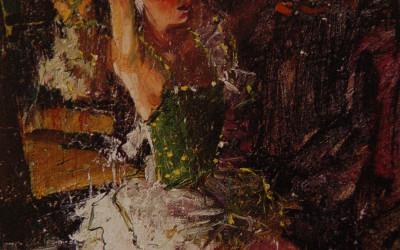 1997 – Lauren, oil on linen 20 x 16