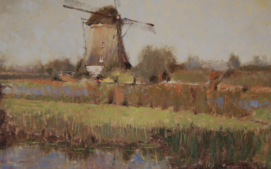 2002 – Kinderdijk (The European Collection 2002), 24×36