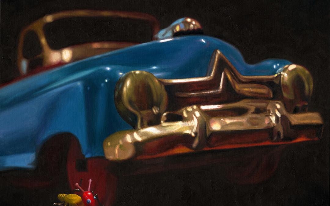 2008 – Bad Cootie, oil on linen, 24×30