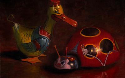 2008 – Don't Bug Me, oil on linen, 16×20