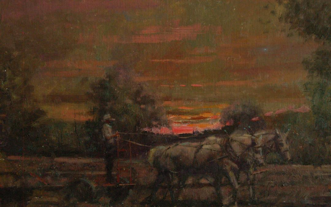 2011 – Last Light, oil on linen, 16×20
