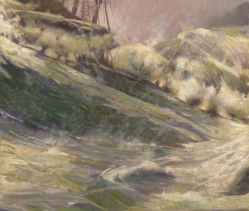 2012 – Shipwreck at Malta / Apostle Paul, Study #1, oil on linen, 36×24