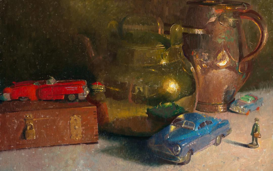 2012 – All Along The Boulevard, California Art Club Gold Medal