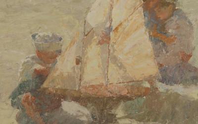 2013 – Pond Yacht With Children, 16×20