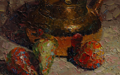 2014 – Pears & Brass Pot