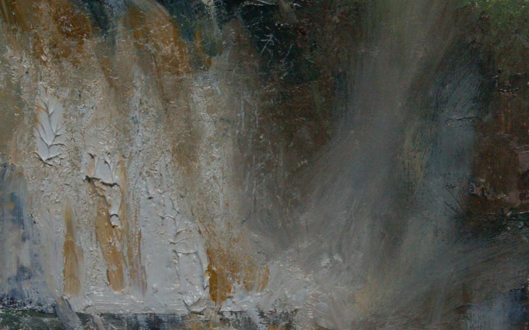 2014 – St. Regis Falls, 12×9
