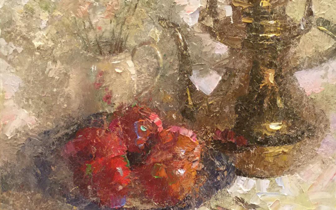 2015, Brass, Apples & Floral