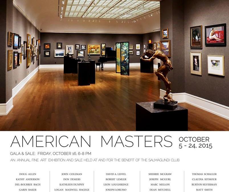 "Salmagundi Club ""American Masters"" 2015"